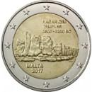 2 Euro Malta 2017 Hagar Qim mit Münzzeichen