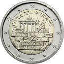 Vatikan 2014 2 Euro Mauerfall Berlin