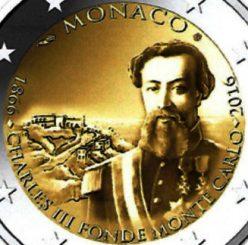 2 Euro Sondermünzen Gedenkmünzen Monaco