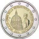 2 Euro Vatikan 2016 200 Jahre Gendarmeriekorps