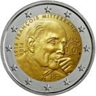 2 Euro Frankreich 2016 Mitterrand