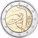 Frankreich 2017 2 Euro Brustkrebs