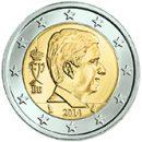 Belgien 2 Euro Kursmünze Philippe ab 2014