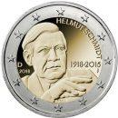 Deutschland 2 Euro Münzen 2018 Helmut Schmidt
