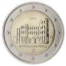2 Euro Münzen 2017 Deutschland Trier Porta Nigra Rheinland Pfalz