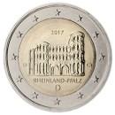 Deutschland 2017 2 Euro Münze Trier Porta Nigra Rheinland Pfalz