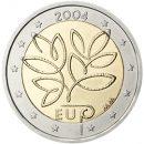 2 Euro Finnland 2004 Münze zur EU-Erweiterung