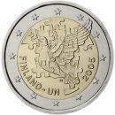 2 Euro Finnland 2005 Münze zu 60 Jahre Uno Mitgliedschaft