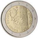 Finnland 2016 2 Euro Münze Georg Henrik von Wright
