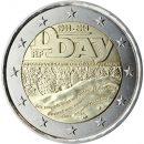Frankreich 2014 2 Euro Münze zum D Day zur Landung in der Normandie