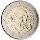 Frankreich 2016 2 Euro Münze Francois Mitterand