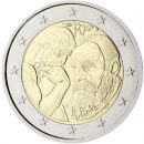 Frankreich 2017 2 Euro Münze für Auguste Rodin