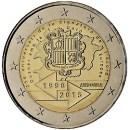 Andorra 2015 2 Euro Münze Zollunion mit der EU