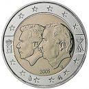 Belgien 2005 2 Euro Münze Wirtschaftsunion mit Luxemburg