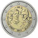 Belgien 2011 2 Euro Münze Weltfrauentag