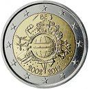 Euroeinführung 2 Euro Belgien 2012