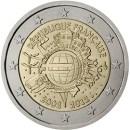 Euroeinführung-2-Euro-Frankreich-2012