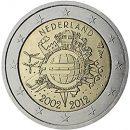 Euroeinführung 2 Euro Niederlande 2012