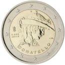 Italien 2016 2 Euro Münze 550 Todestag Donatello