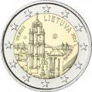 2 Euro Litauen 2017 Münze Vilnius Stadtpanorama
