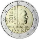 Luxemburg-2014-2-Euro-Münze-175-Jahre-Unabhängigkeit-des-Großherzogtums