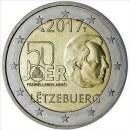 Luxemburg 2017 2 Euro Münze zu 50 Jahre Wehrdienst