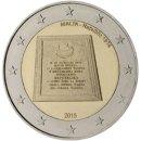 Malta 2015 2 Euro Münze Republik von 1974