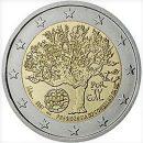 2 Euro Portugal 2007 Münze Ratspräsidentschaft der EU