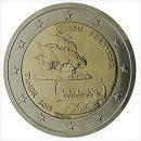 Portugal 2015 2 Euro Münze Kontakt mit Timor