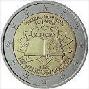 Römische Verträge Österreich 2 Euro Münze