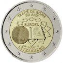 Römische-Verträge-Luxemburg-2-Euro-Münze
