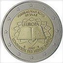 Römische Verträge Niederlande 2 Euro Münze