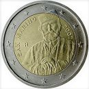 2 Euro San Marino 2007 Münze Guiseppe Garibaldi