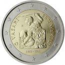 San Marino 2011 2 Euro Münze Giorgio Vasari