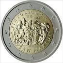 San Marino 2013 2 Euro Münze Maler Pinturicchio