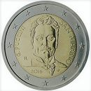 San Marino 2014 2 Euro Münze Giacomo Puccini