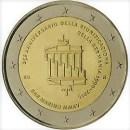 San Marino 2015 2 Euro Münze Deutsche Wiedervereinigung