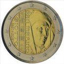 San Marino 2017 2 Euro Münze 750 Jahre Geburt von Giotto