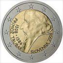 2 Euro Slowenien 2008 Münze Primoz Trubar