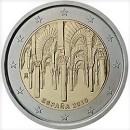 2 Euro Spanien 2010 Münze UNESCO Altstadt von Cordoba