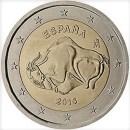 Spanien 2015 2 Euro Münze Unesco Altamira