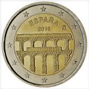 Spanien 2016 2 Euro Münze Unesco Segovia
