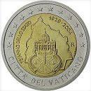 2 Euro Vatikan 2004 Münze 75 Jahre Gründung des Vatikanstaat