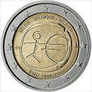 WWU Belgien 2009 2 Euro Münz