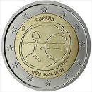 WWU Spanien 2009 2 Euro Münze