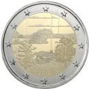 2 Euro Gedenkmünze Finnland 2018 Saunakultur