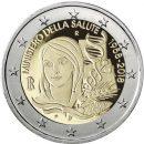 2 Euro Italien 2018 60 Jahre Gesundheitsministerium