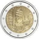 Vatikan 2019 2 Euro Münze Gründung Vatikanstadt