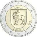 Lettland 2018 2 Euro Zemgale
