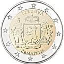 Litauen 2019 2 Euro Enthnografische Regionen Zemaitija